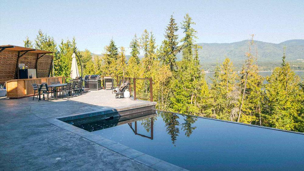 blind bay custom home builder pool