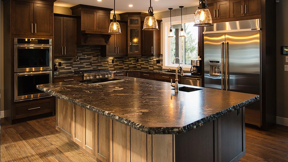 shuswap home builder kitchen