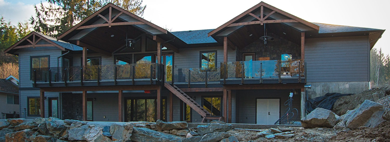 shuswap custom home builders